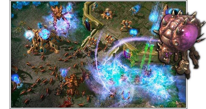 Rush zerg sur Starcraft 2