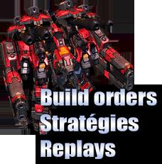 Build orders et stratégies terran